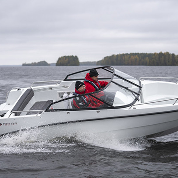 Bow rider AMT 190 BR 3